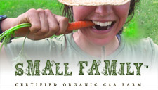 Organic Food Community Supported Agriculture Small Family CSA